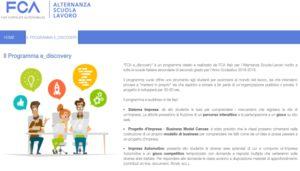 Progetto FCA eDiscovery - Alternanza Scuola-lavoro