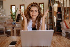 Frustrazione e apprendimento on line